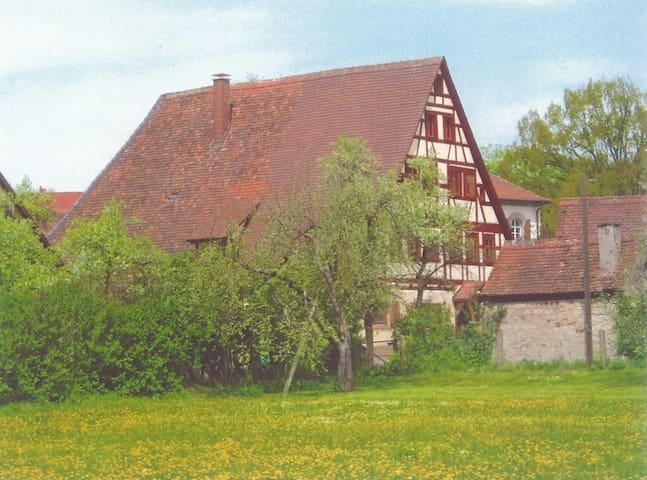 Dombühl的民宿