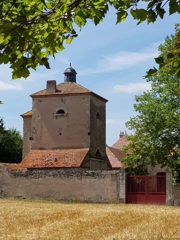 Monteignet-sur-l'Andelot的民宿
