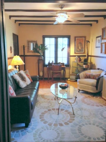 Eclectic 1 BD apartment in historic building