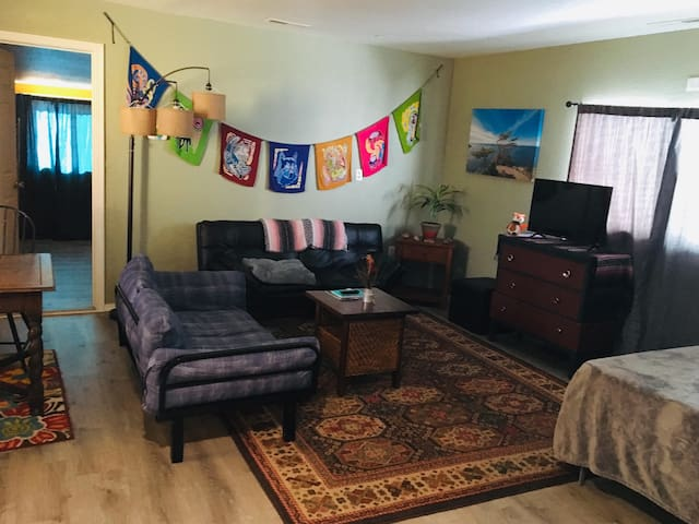 Remodeled 600 square foot apartment