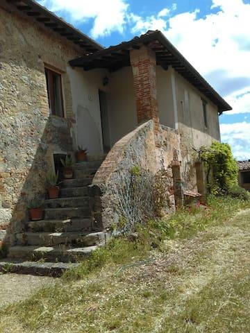 蒙特里久尼(Monteriggioni)的民宿