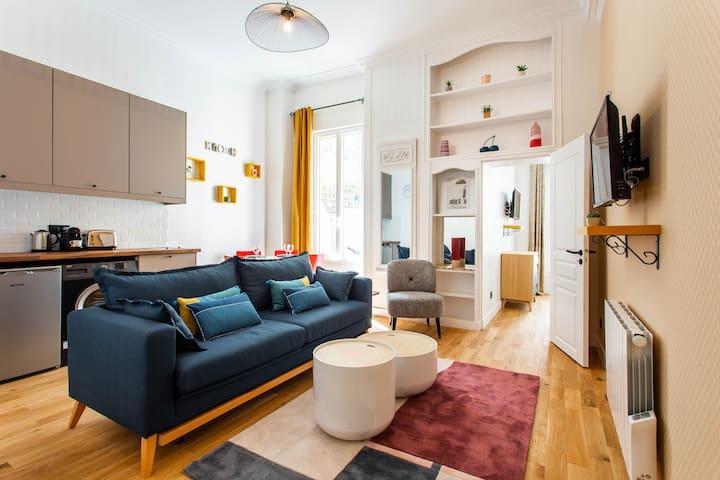 Appartement 4P- Place de la Bastille/St Antoine1DD