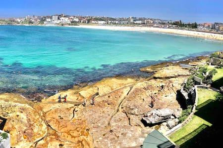 Sun-drenched water-front studio Bondi Beach