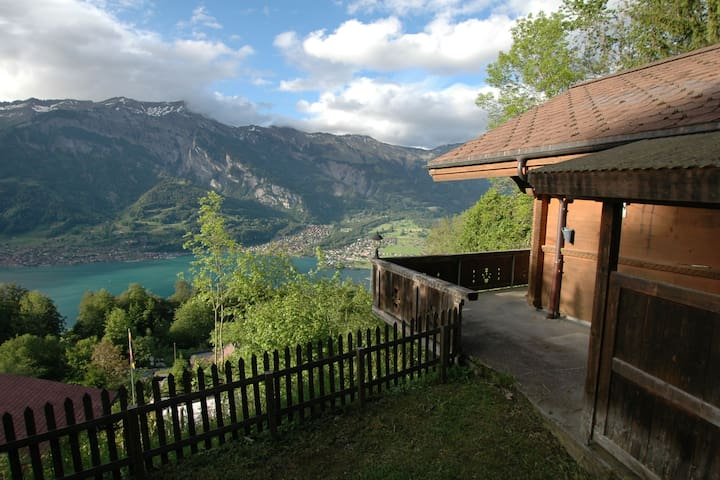 Beautiful Holiday Home in Brienz with Lake View