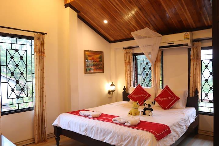 琅勃拉邦(Luang Prabang)的民宿