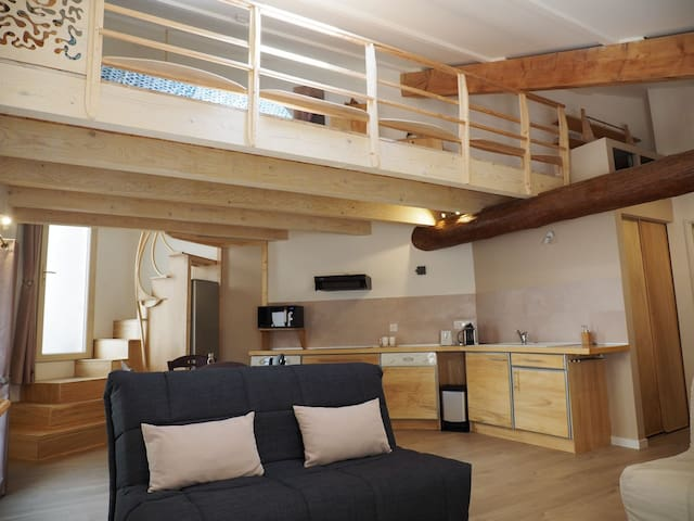 The small  loft in the heart of the Alpilles