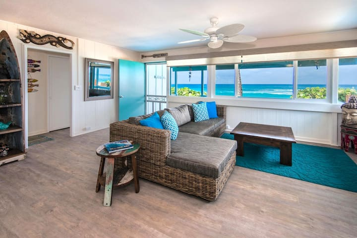 Two bedroom Sunset Beachfront Cottage