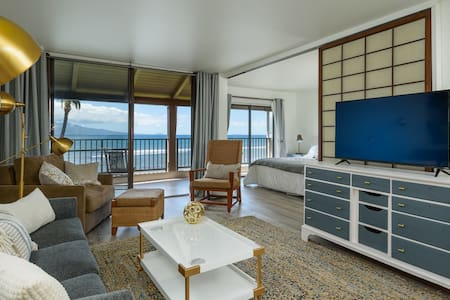 Luxury Oceanfront ★ Designer Condo with Huge Views