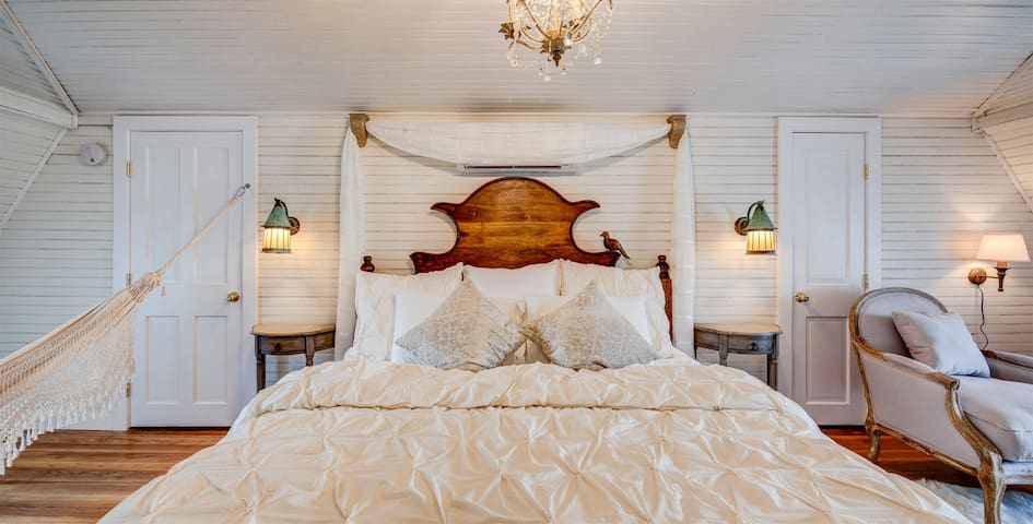 Fairytale Suite | One of Seven Individually Designed Units in The Belmont Farmhouse