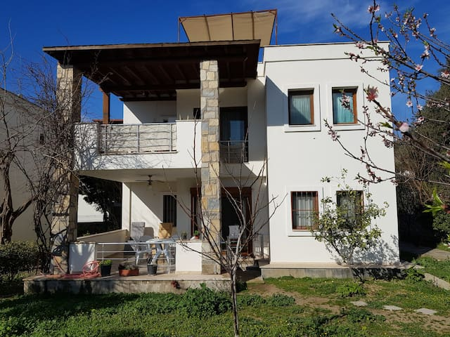 A two-bedroom flat located at the center of Bodrum