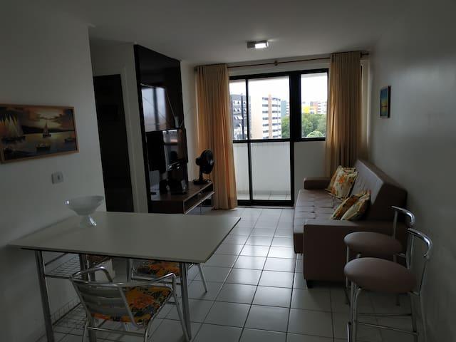Apartamento beira-mar no Edf. Neo 1.0