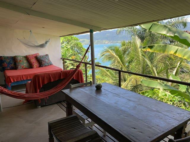 Loft 20 - frente ao mar com praia particular