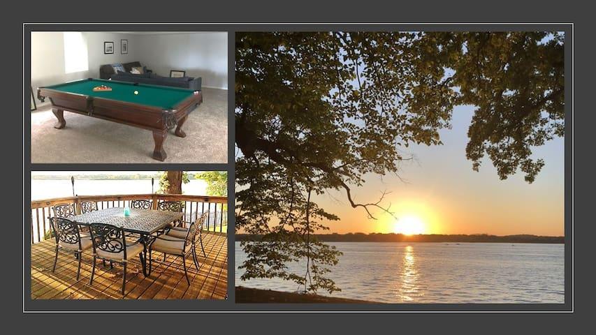 Stunning Lake Views, Huge Deck, Water Fun!