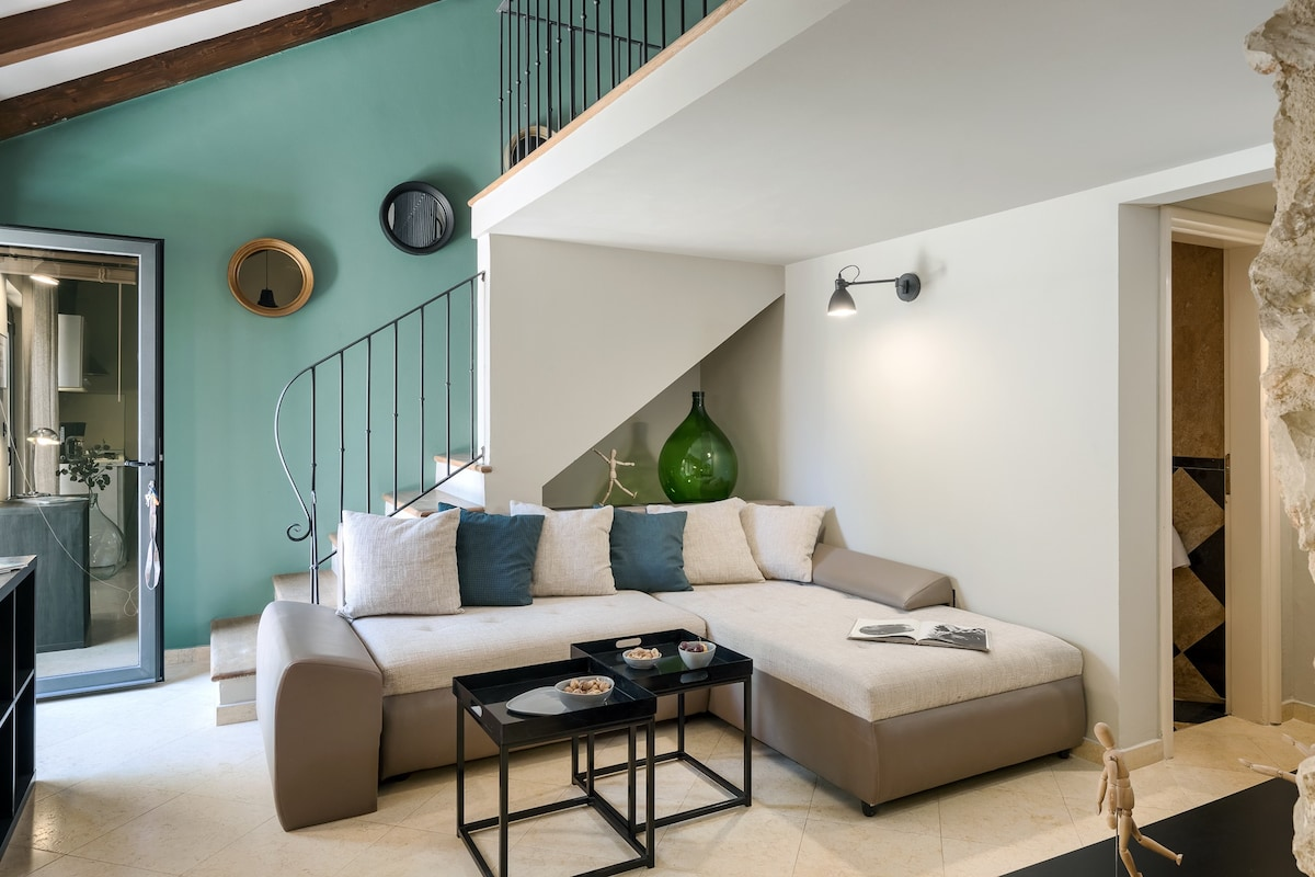 Istrian and modern apartment-house, best location