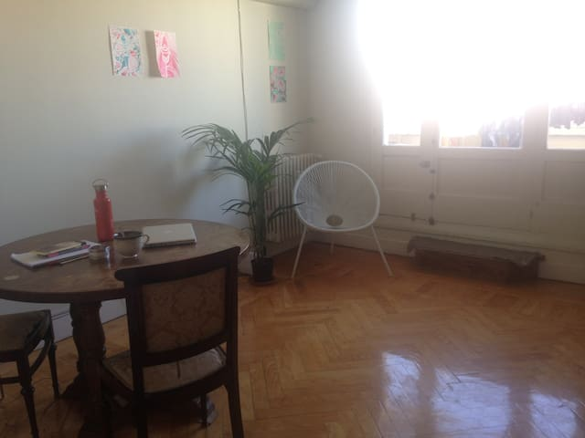 Room in beautiful flat close to the UCM-university