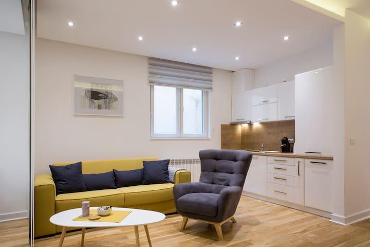 Yellow Sofa - FREE GARAGE