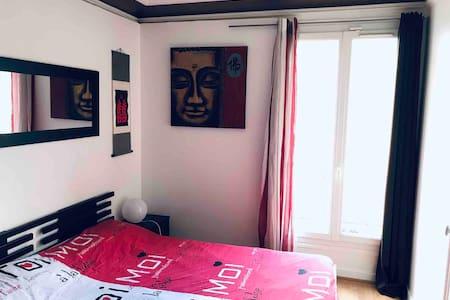 Beautiful room.🏳️🌈MARAIS🏳️🌈. Paris Center.