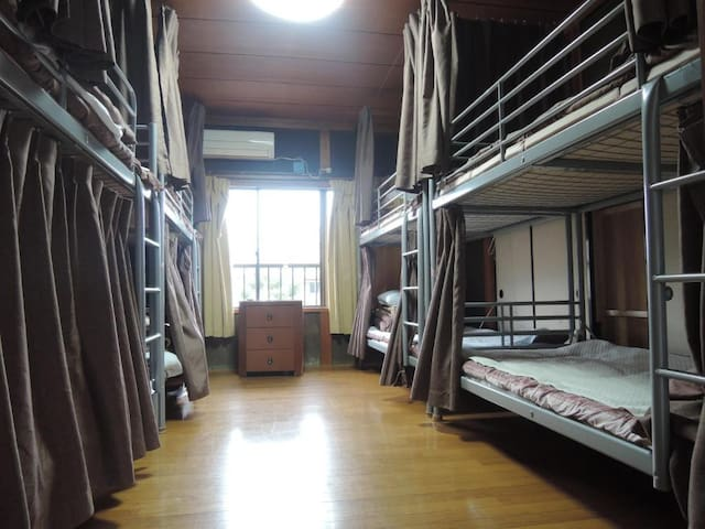 1 Bunk bed in Mixed Dorm Room