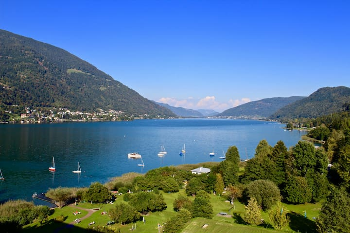 Seeblick Penthouse Ossiacher See