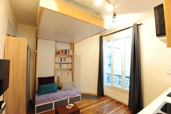 renovate flat with lift Heart of historical Paris