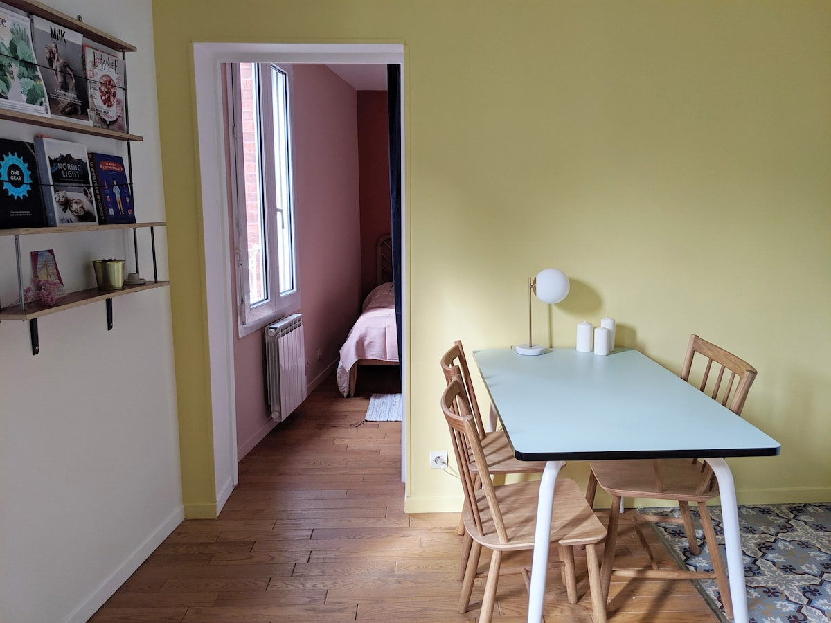Petit Trouville : a 2 room apartment in the center
