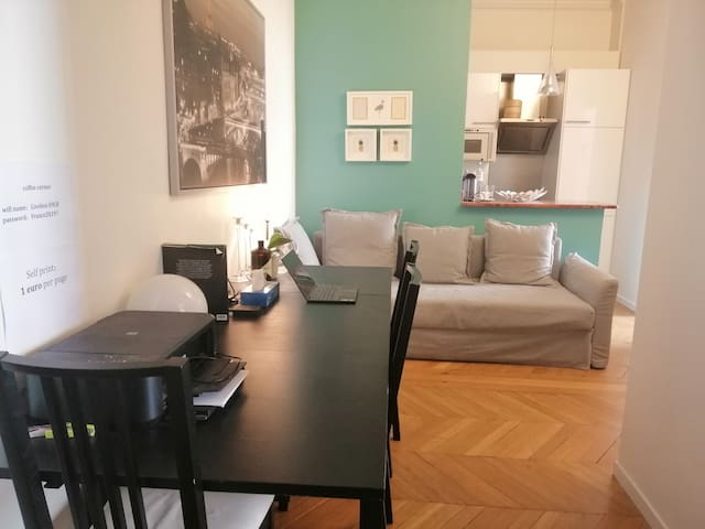 ChampsElysees isolate double  bedroom with balcony