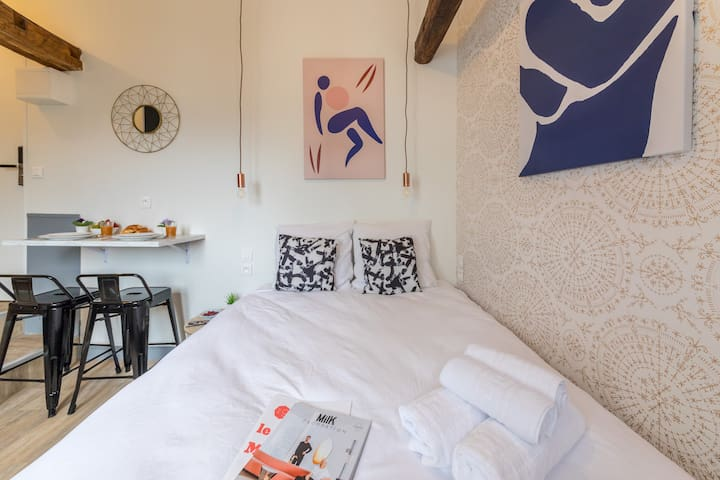 Lafayette - Saint-Lazare 63 : Cosy apartment for 2