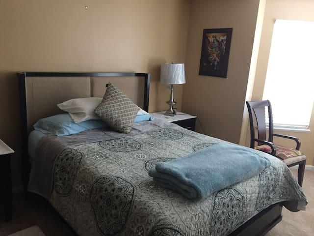 Classy master bedroom