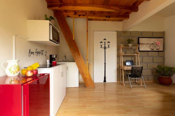 Confortante Suite con entrada privada y Terraza