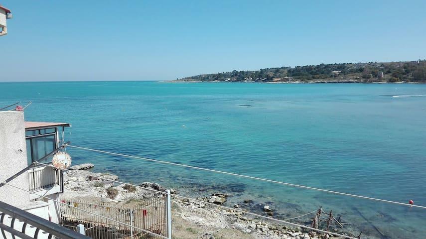Casa sul mare brucoli home overlooking the sea