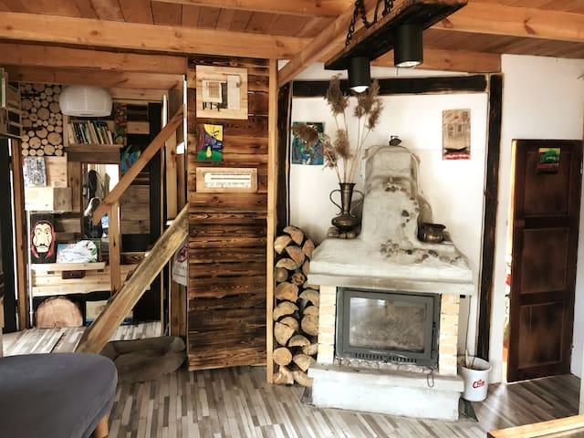 Forest House Dom w  Karwicy nad jeziorem Nidzkim 