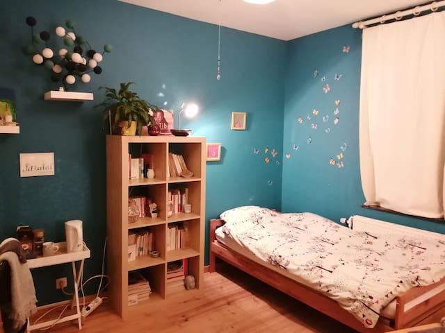 """Jolie et confortable chambre """"zen"""" avec sdb privée"""