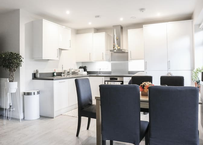 Brandnew Flat near Twickenham Stadium & Heathrow