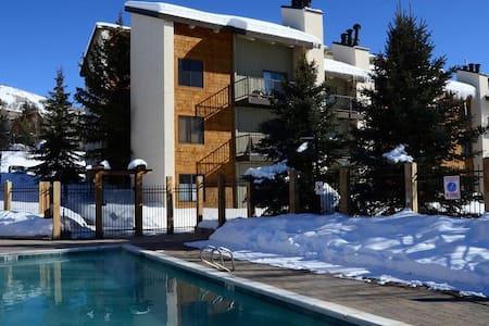 Cozy 2/2 condo walk to hot tub, pool & ski gondola