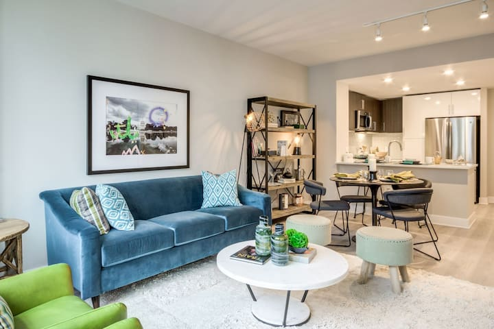 Relax in your own space | 1BR in Bethesda