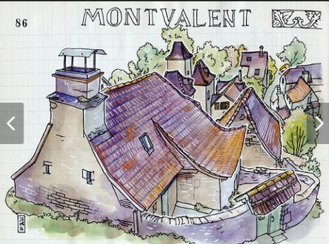 Montvalent的民宿