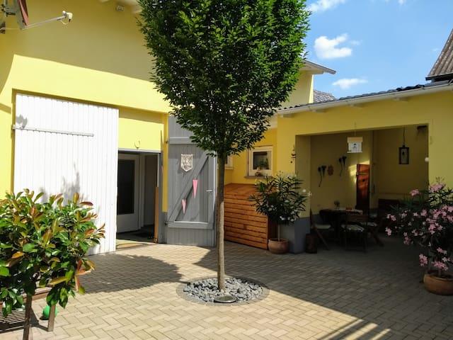 Unsere kleine Gästewohnung in Rechtenbach (35m²)