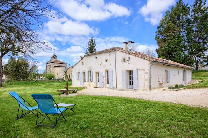 Sauveterre-de-Guyenne的民宿