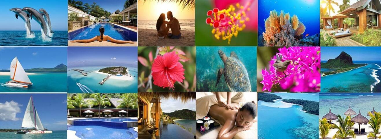 Popular tourist places in Mauritius