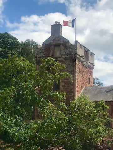苏格兰边界的民宿