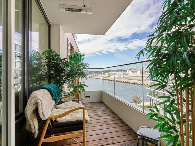 Two bedroom Apt. with balcony on Tjuvholmen