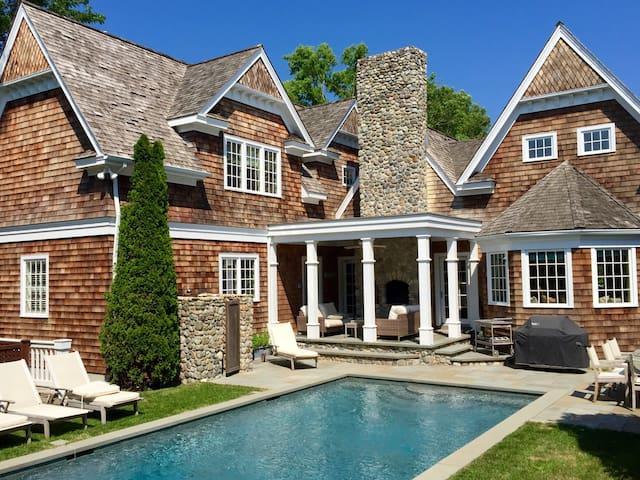Luxury STEPS from East Hampton Village!