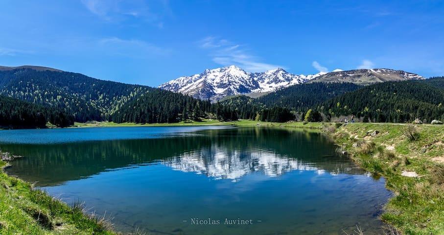Gîte 8/10 pl Lac de Payolle Campan Htes Pyrénées.