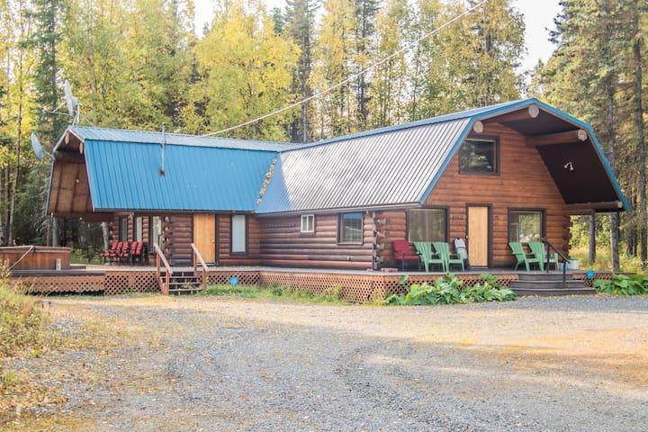 Sashas Kenai River Private Alaskan Log Cabin