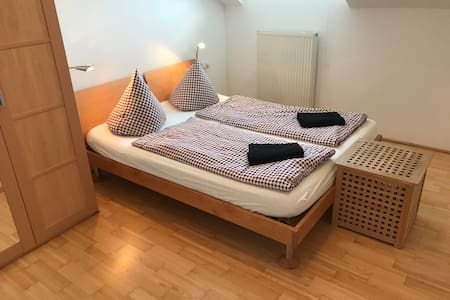 Bright Apartment In The Attic With Free Parking!