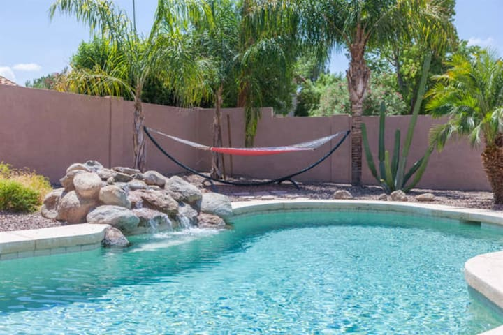 Large 3BR Gilbert Islands Home w/ Pool & Billiards Table