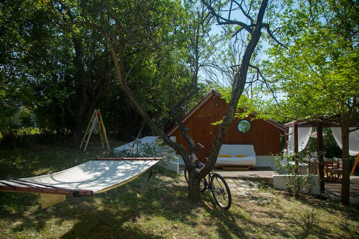 Wooden holiday house in Chalkidiki