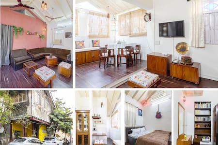1 bed apartment at Mumbai's Street Art District.