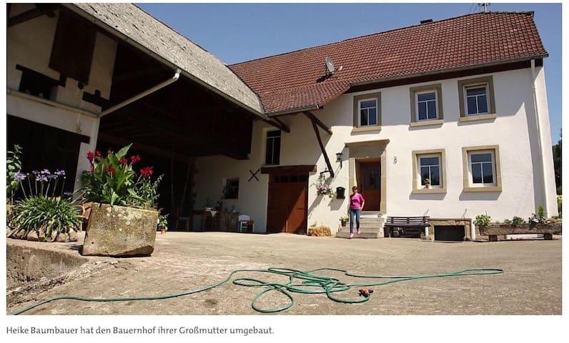 Oberweiler im Tal的民宿