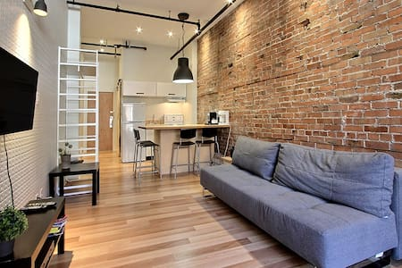 Lovely apartment downtown Quebec City (1-4 pers.)